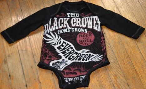 Black Crowes Concert T onesie